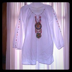Tantrums beaded shirt large